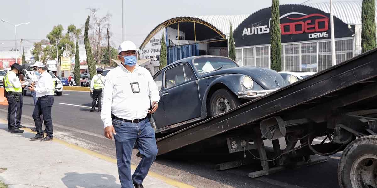 En cuatro días, Hoy no Circula deja 197 vehículos en el corralón