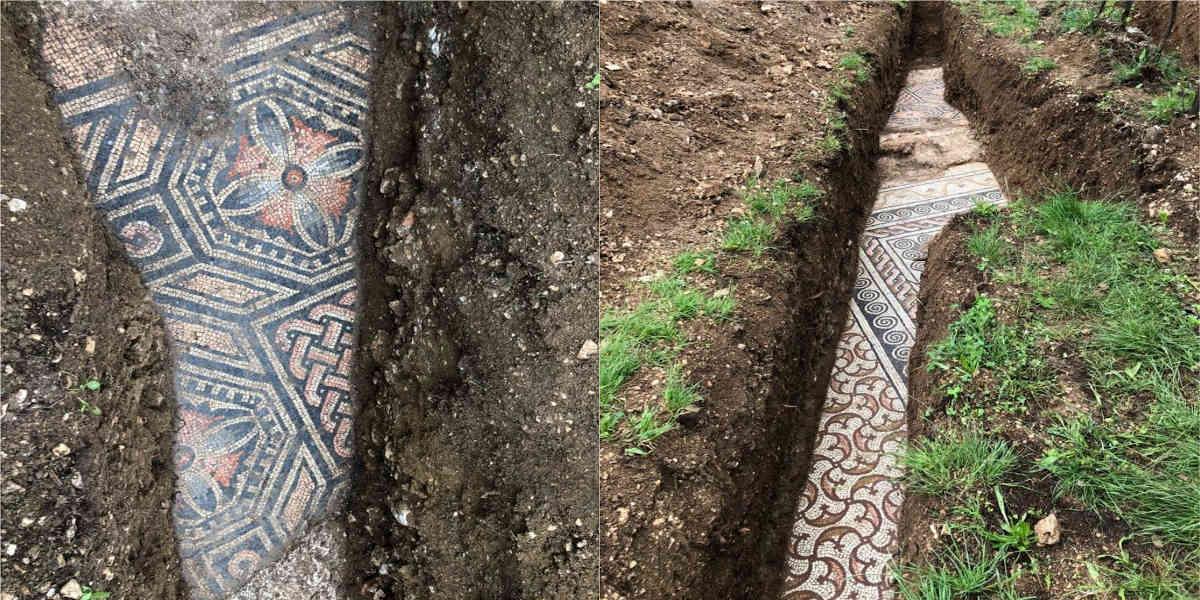 Viñedos de Italia escondían antiguos mosaicos romanos