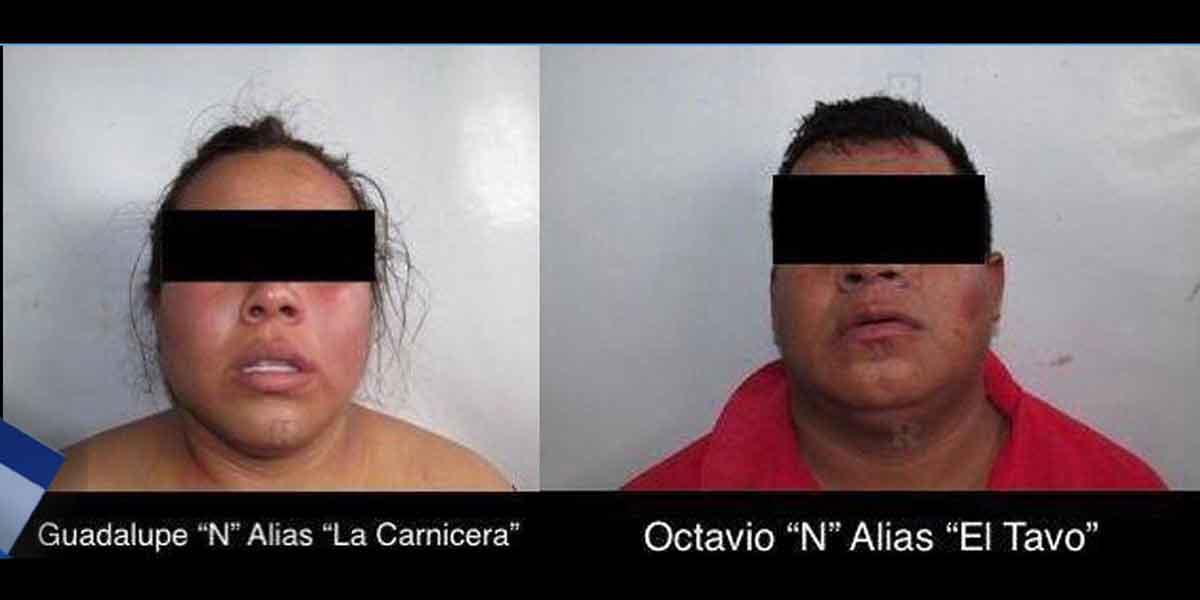 """Cae sicaria del CJNG """"La Carnicera""""; le hallan en el celular video descuartizando a víctima"""
