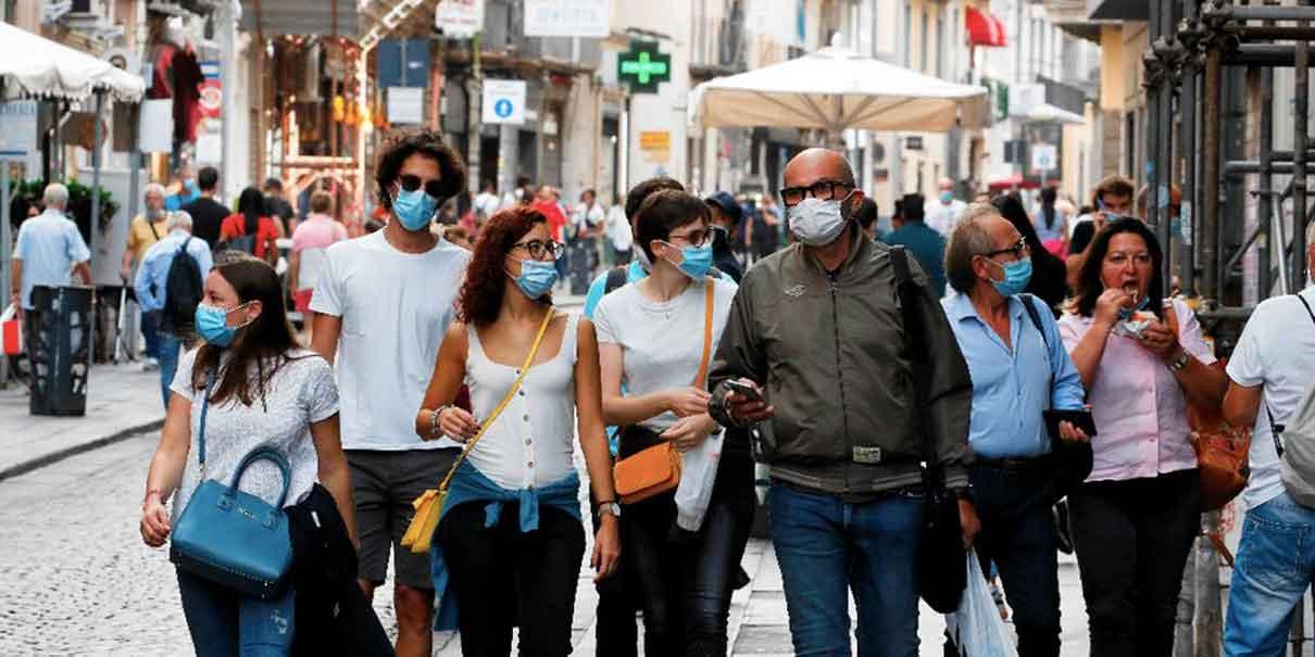 Segunda ola Covid en Europa supera los 7 millones de casos