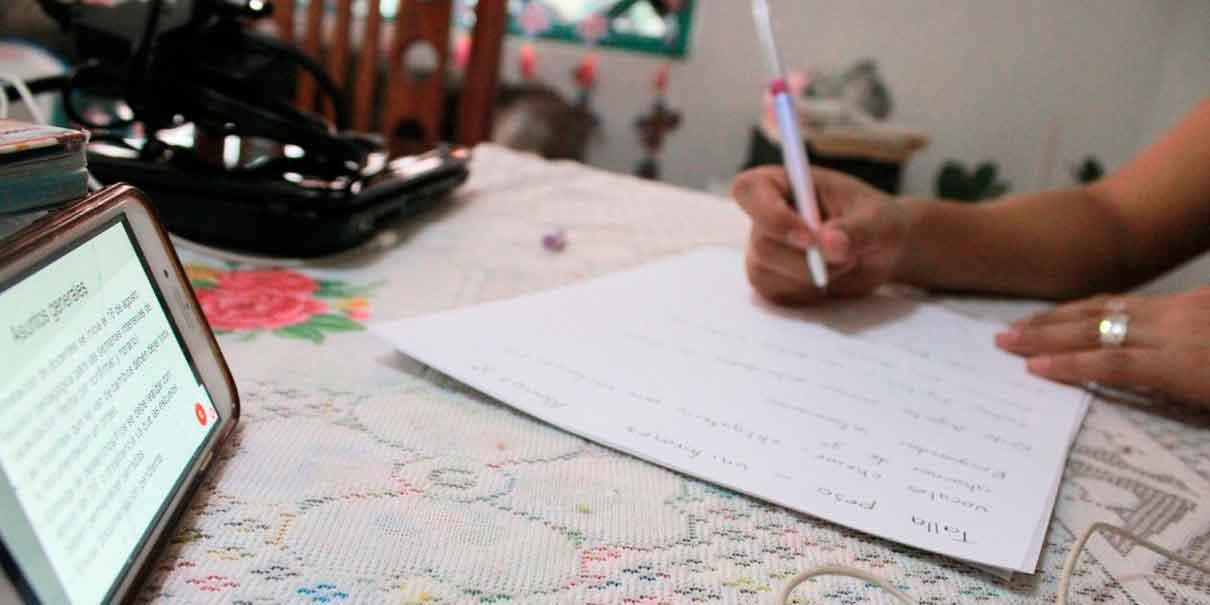 Alumnos de Puebla tienen las herramientas necesarias para las clases a distancia
