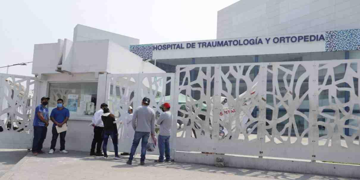 Ortopedia del estado dejará de ser hospital Covid
