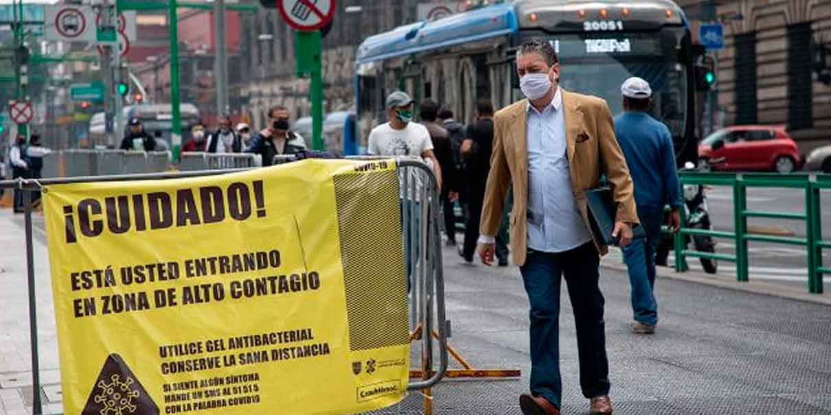 Una tercera parte de México se se mantiene en rojo