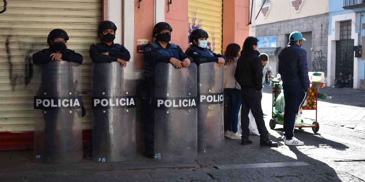 La Policía Municipal no ayuda en nada en el combate a la delincuencia: Barbosa