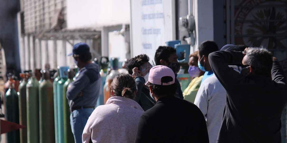 Adeco frenará abusos por escasez de tanques de oxígeno en Puebla