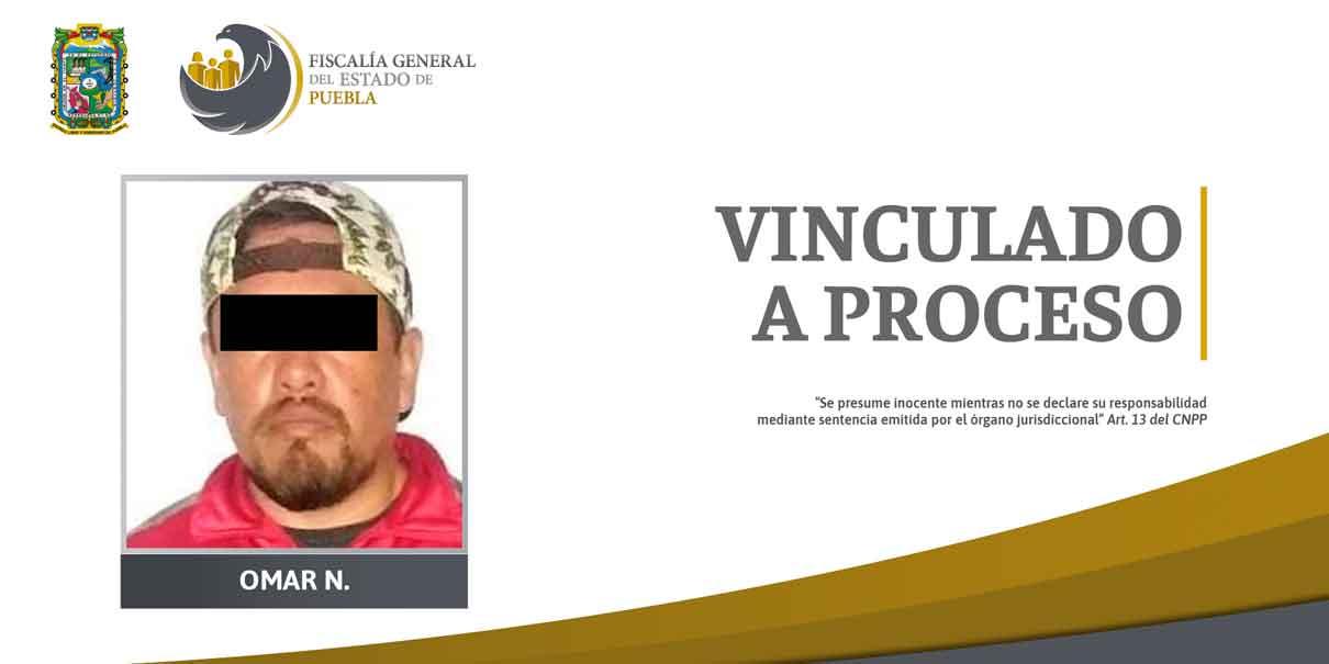 Prisión preventiva contra detenido en Cholula por delitos contra la salud