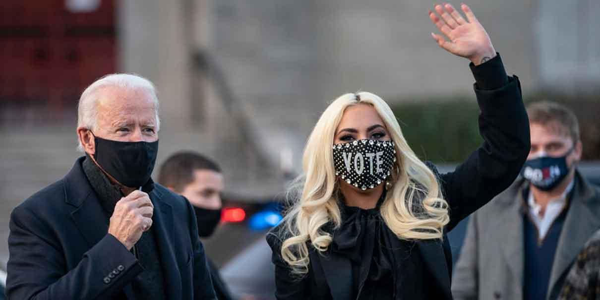 Interpreta Lady Gaga el himno de los Estados Unidos en la toma de protesta de Joe Biden