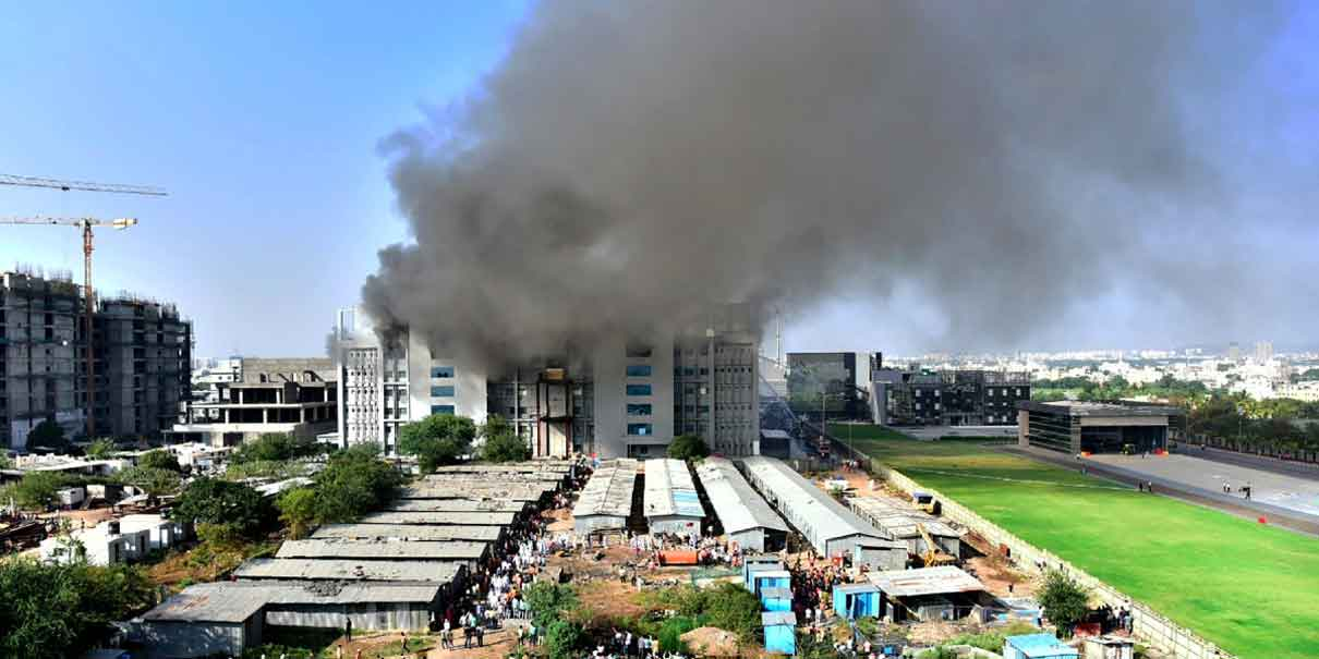 Incendio en fábrica de vacunas contra Covid-19 deja 5 muertos