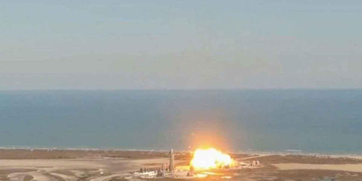 Prototipo de cohete de SpaceX estalló al aterrizar