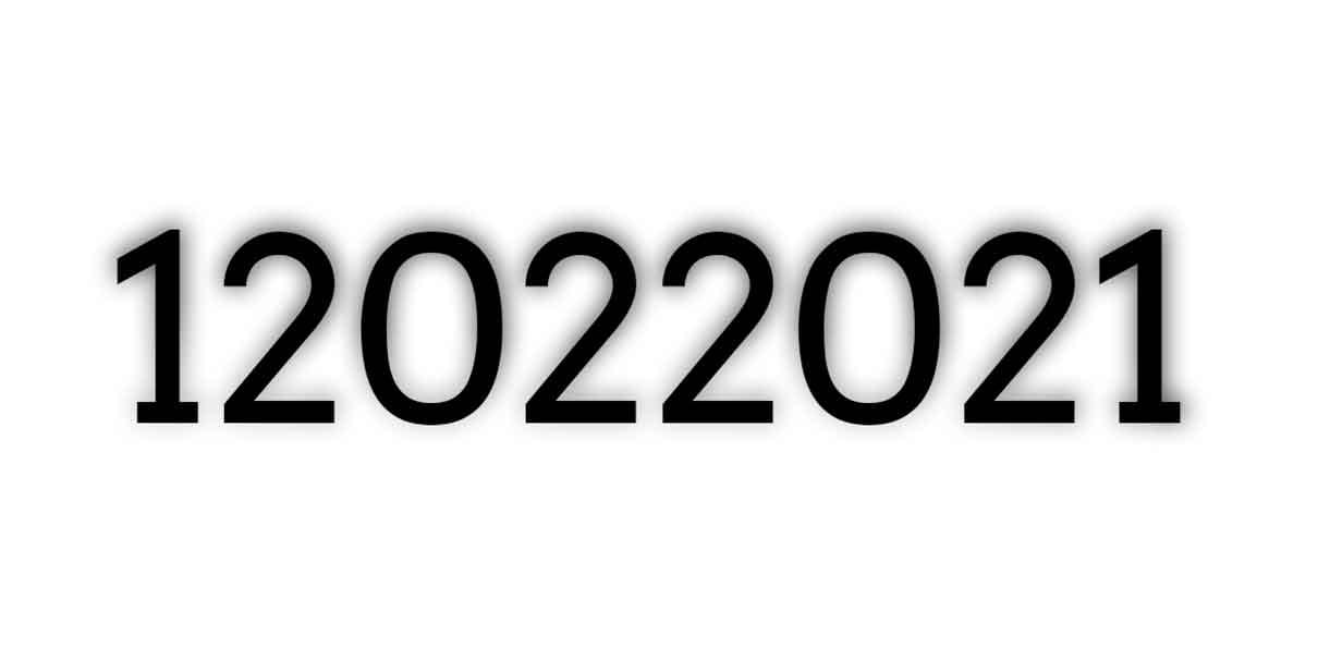 12 de febrero día de Capicúa pero… ¿Qué significa?