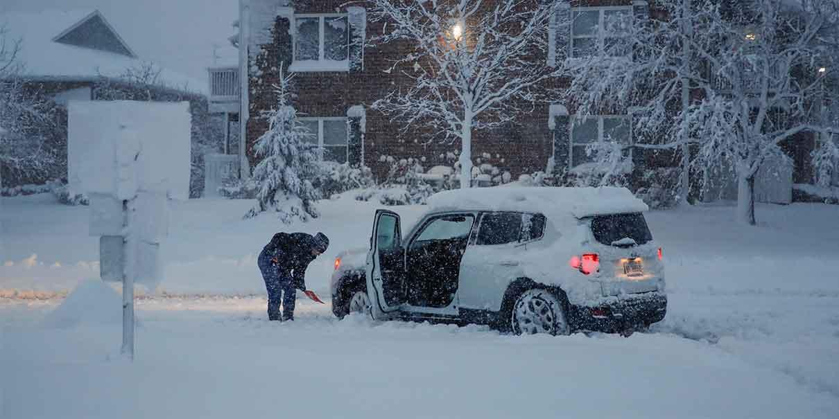Estados Unidos en alerta por fuertes Tormentas Invernales