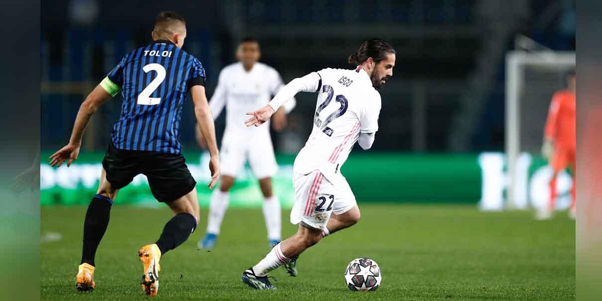 Pese a la baja de Karim Benzema y Mariano Díaz, Zidane se lanzó a la cancha del Atleti Azzurri a dar pelea al equipo italiano