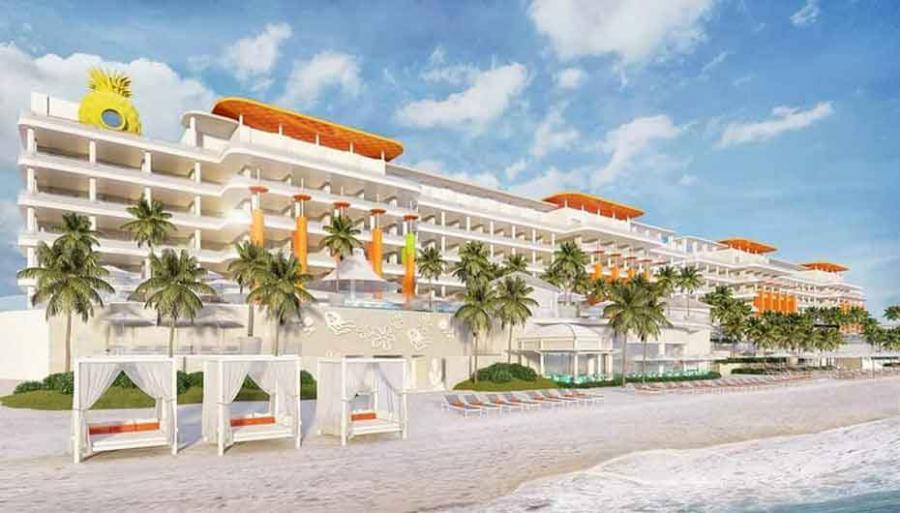 El nombre oficial es Nickelodeon Hotels & Resorts Riviera Maya.