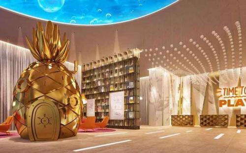 El Hotel Nickelodeon contará con 4 bares y 1 SPA para los adultos mientras los menores se divierten.