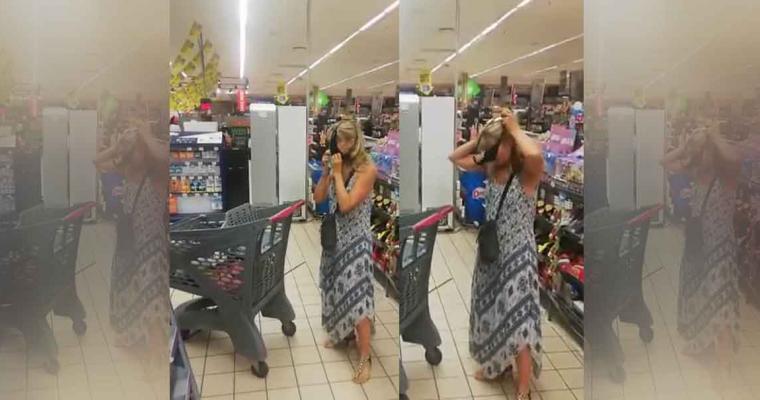 Se volvió viral por el hecho de discutir en un supermercado donde no se le dejaba ingresar por no portar cubrebocas.