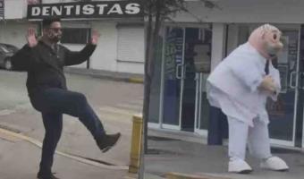 VIDEO. Joven reta al doctor Simi a duelo de baile