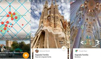 Street View de Google Maps estrena la pantalla dividida