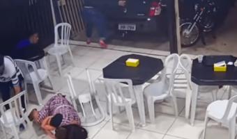 Mujer embarazada arriesga la vida por sus hijos durante una balacera