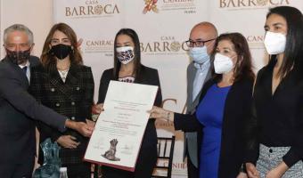 Premio al Mérito Empresarial 2020 al restaurante Casa Barroca