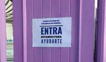 """""""Puerta Violeta"""", otra alternativa contra la violencia de género"""