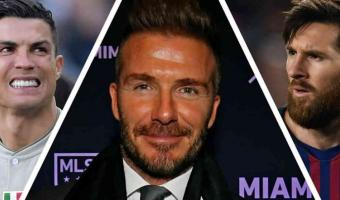 EQUIPAZO. Beckham quiere a Ronaldo y Messi en su equipo de la MLS
