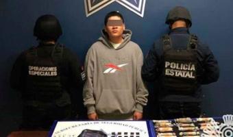"""Atraparon a """"El Raspeck"""" cargado con droga en Atlixco"""