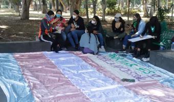 Feministas y trans a la marcha con la larga lista de peticiones